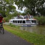 Baťův kanál – dovolená na obytných motorových lodích a hausbótech